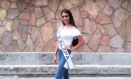 Denuncia reportero que concursante a Miss Xalapa es de Coatzacoalcos