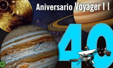 Celebra la NASA 40 aniversario del lanzamiento del Voyager 2