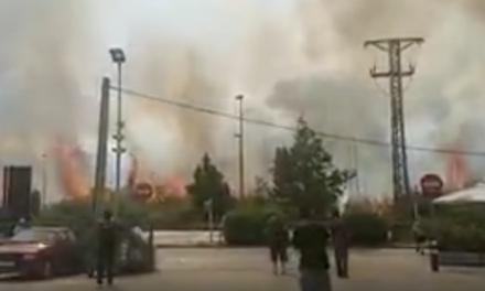 Reportan incendio en aeropuerto El Prat de Barcelona