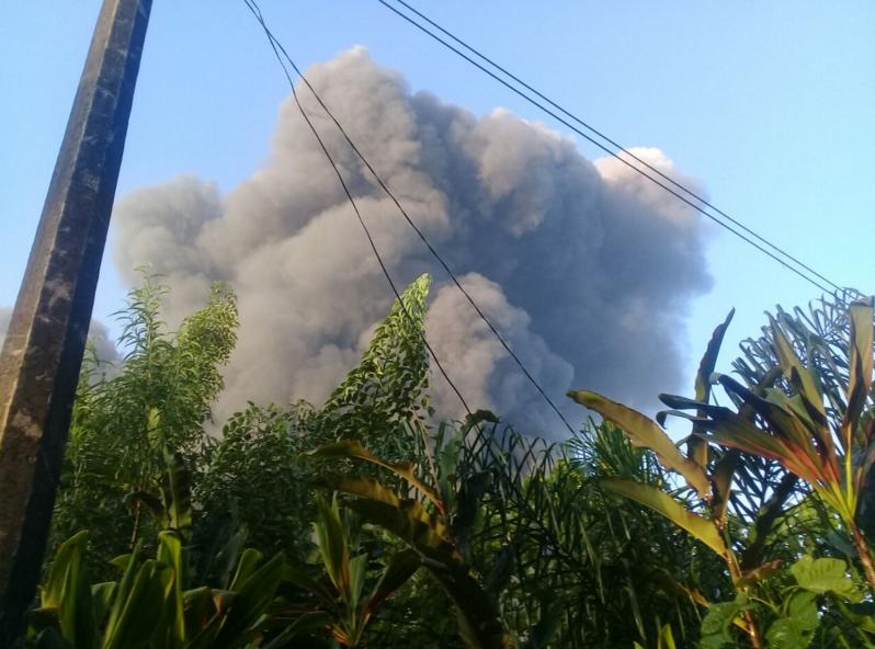 Se registra explosión tras fuga en ductos de PEMEX en Ixtaczoquitlán