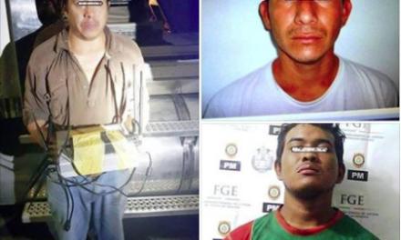 Detiene Policía Ministerial de Veracruz, a tres sujetos, por robo agravado