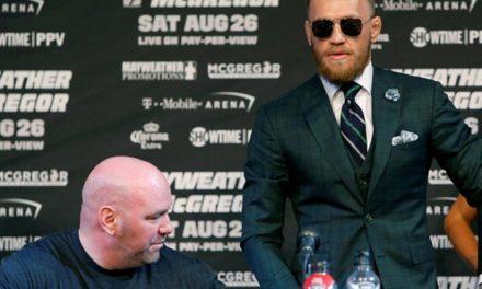 McGregor enfrentaría multa si no da el peso
