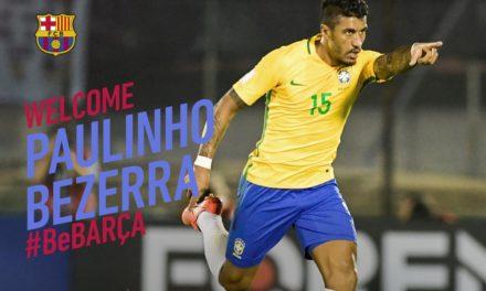 Paulinho, el fichaje millonario del Barcelona
