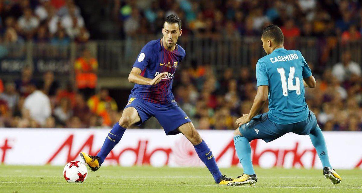 Barcelona debe corregir errores para ganar la Supercopa: Busquets