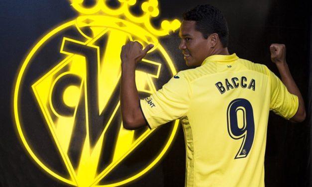 Carlos Bacca es nuevo delantero del Villarreal