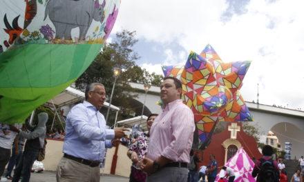 Invita alcalde de San Andrés Tuxtla al Festival Internacional de Globos
