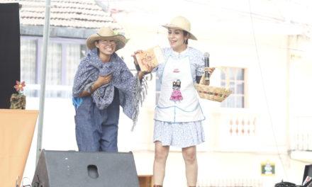 """Presentan """"Las cabritas y el lobo"""" en el barrio de Xallitic"""
