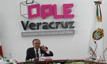 OPLE será imparcial en la contienda electoral, dice Bonilla