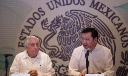 Destaca Osorio Chong disminución de delitos en Durango durante 2017