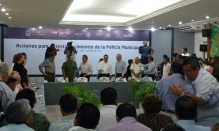Anuncian nueva policía para Coatza y más cámaras de vigilancia