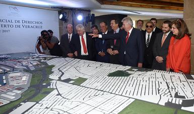 Confianza de Empresarios mexicanos para invertir en el nuevo Puerto de Veracruz