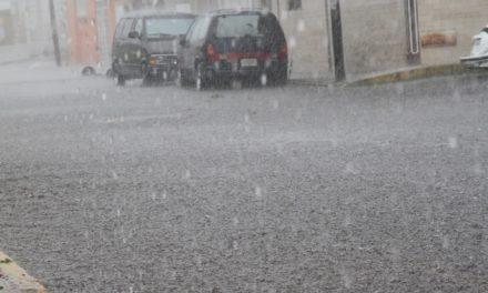 Continuaran las lluvias en el estado durante hoy jueves y viernes
