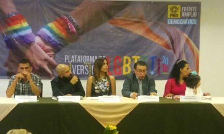 Frente Amplio Democrático del PRD presenta su plataforma LGBTTTI 2018