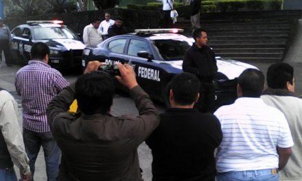 Reportan manifestación de taxistas en Central de Autobuses de Xalapa