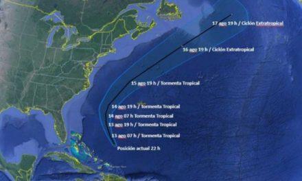 Se forma la depresión tropical 8… aún lejos costas mexicanas