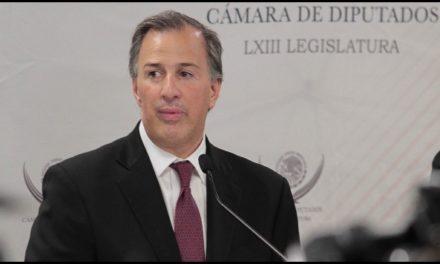 """""""Blindada"""" información fiscal de posibles aspirantes presidenciales: Meade"""