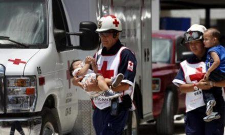 Voluntarios de la Cruz Roja Mexicana llegan a Texas ante emergencia