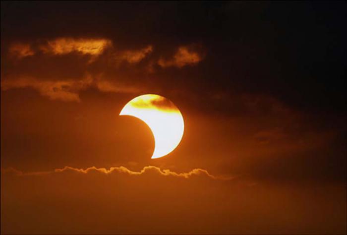 El eclipse solar se podrá ver en Veracruz a las 13:28:13 horas