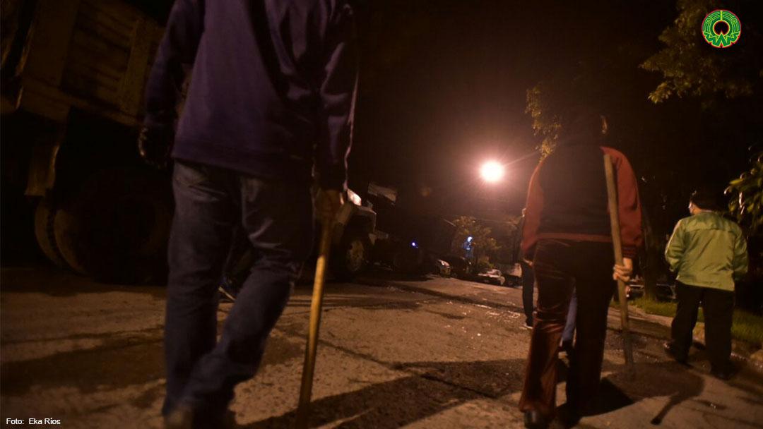 Galería: En la colonia Rafael Lucio conforman guardia vecinal ante creciente inseguridad