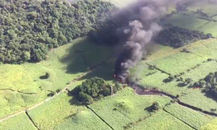 Explosión en ductos de PEMEX en Ixtaczoquitlán deja un muerto y cinco heridos