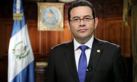 Admite Corte de Guatemala pedido de desafuero contra el presidente Jimmy Morales