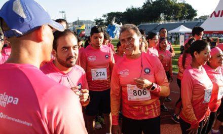 Asegura Yunes estar en perfectas condiciones físicas y mentales; el deporte, lo mejor para la salud, asegura