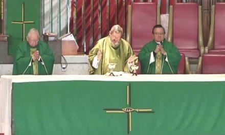 Elevan plegarias en la Basílica por víctimas de sismo y huracanes
