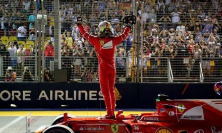 Vettel se lleva la 'pole' en Singapur; 'Checo' saldrá doceavo