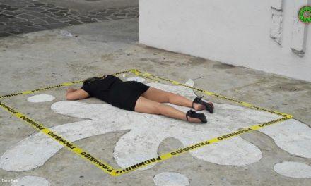 Aparente suicidio en el Xallitic se trató de un performance para hacer conciencia sobre este tema