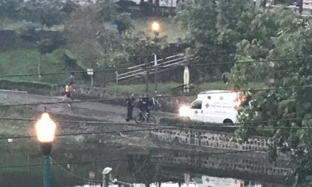 Peatón sufre accidente en Los Lagos, cerca de Circuito Presidentes