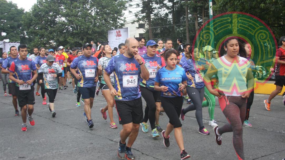 GALERÍA: Se lleva a cabo este domingo la tercera carrera Nuestra Capital XL