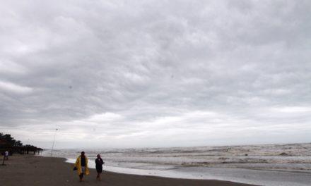Comienzan a sentirse en Veracruz los efectos del huracán Katia