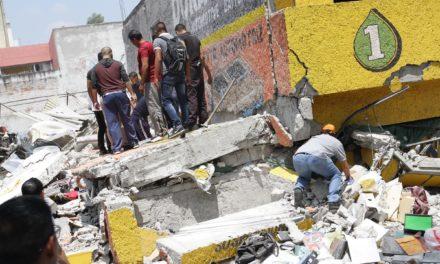Suman 138 muertos por sismo de este martes Protección Civil