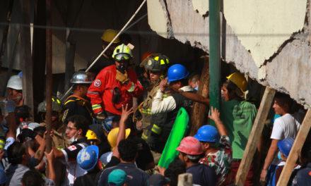 Actualizan cifra de muertos por sismo; ya suman 195
