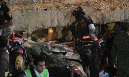 Continúan labores de rescate de niños atrapados en el colegio Enrique Rebsamen
