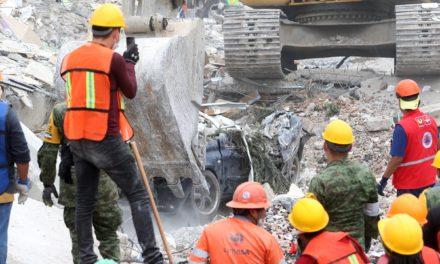 Subraya Peña Nieto que continuarán las labores de rescate en edificios derrumbados