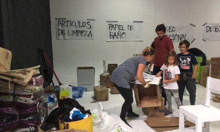 Diego Luna apoya con centro de acopio a víctimas de sismo
