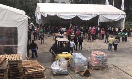 Presidente municipal de Ocuilan informa que se necesita materiales para remoción de escombros