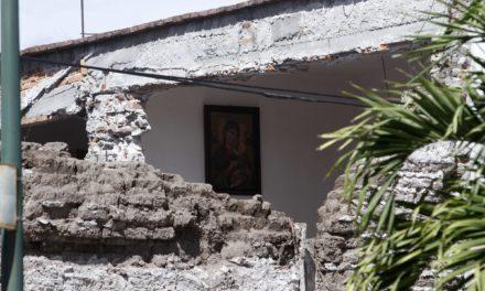 Axochiapan, epicentro del sismo de 7.1, registra más de 300 casas con pérdida total