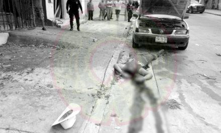 Asesinan a hombre en plena calle de Coatzacoalcos