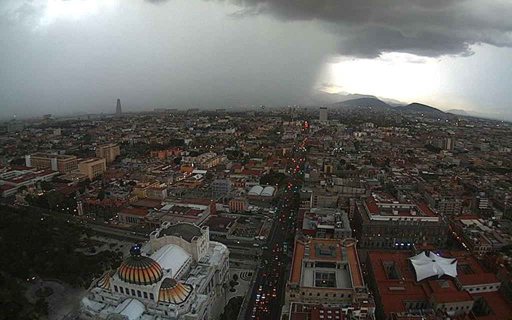 Amenaza lluvia labores de rescate en CDMX
