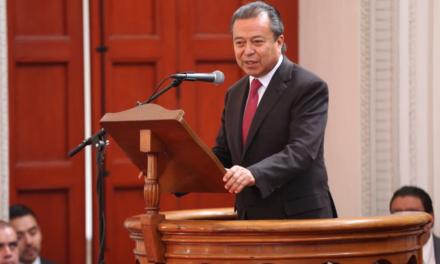 Dice César Camacho que PRI no se dejará chantajear por grupos para designar nueva Mesa Directiva