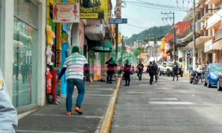 Ejecutan hombre en pleno centro de la ciudad de Xalapa