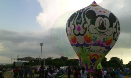 """Se lleva a cabo el 4º Festival de Globos """"Vuela San Andrés"""""""