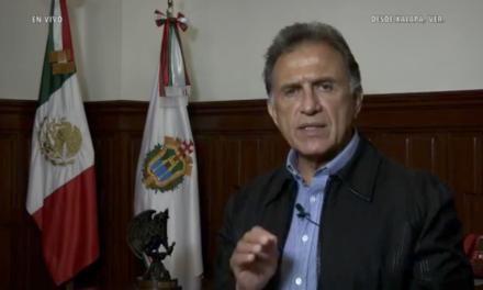 Reporte del Gobernador de Veracruz sobre las afectaciones a consecuencia del sismo