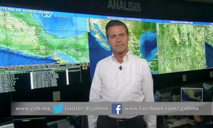 En vivo: Mensaje de Enrique Peña Nieto a medios de comunicación