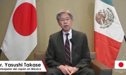 Japón y México somos amigos en las buenas y en las malas, afirma embajador Takase