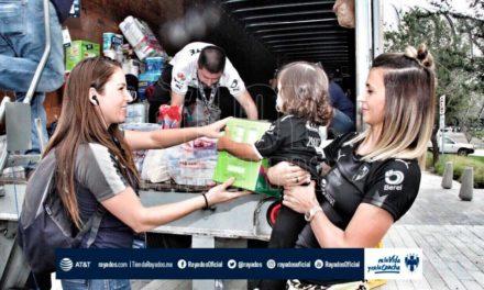 Rayados y Tigres recaudan apoyos para damnificados por sismo