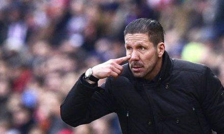 """Técnico """"Cholo"""" Simeone renueva hasta 2020 con el Atlético de Madrid"""
