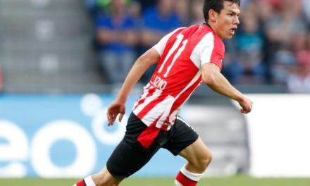 """""""Chucky"""" Lozano es elegido como Mejor Jugador del mes en Holanda"""